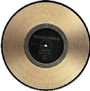 "INTERVIEW - 10"" GOLD VINYL DISC (MAD10G)"